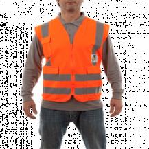 Chaleco Supervisor RFX Naranjo UPF 25